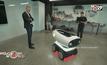 หุ่นยนต์ส่งพิซซ่าตัวแรกของโลก