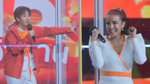 """มิกซ์-ใบเตย-แพรวา-คารีสา-ชิน ยกขบวนระเบิดความมันส์ ในรายการ """"Shopee Mid Month Game Show 15 คว้าล้าน"""""""