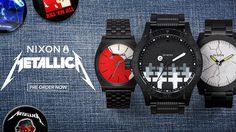 Metallica ร่วมมือกับ Nixon ปล่อยนาฬิกาลิมิเต็ด อิดิชั่น เปิดให้แฟนๆ สั่งจองกันได้แล้ว