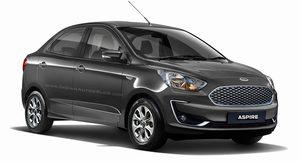 เรนเดอร์ 2018 Ford Aspire Facelift เปลี่ยนใหม่ทั้งหน้า-หลัง