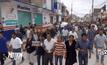 ชุมนุมต่อต้านปฏิรูปการศึกษาในเม็กซิโก