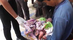 สะเทือนใจ! แม่ทิ้งลูกแรกเกิดไว้ในพงหญ้าข้างถนน โชคดีรอดปาฏิหารย์