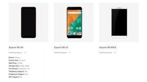 Xiaomi Mi 6X หรือ Mi A2 เปิดเผยราคาแล้วผ่าน Android.com ก่อนงานเปิดตัว