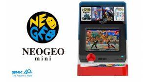 Neo Geo  มัดรวม 40 เกมเก่า ลงร่างใหม่ Neo Geo Mini