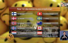 """""""ฟินแลนด์"""" ประเทศมีความสุขที่สุดในโลก 2 ปีซ้อน"""