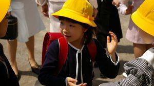 เดือนเมษายน เวลาเปิดเทอมของเด็กญี่ปุ่น