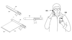 สมาร์ทโฟนหลบไป LG โชว์สิทธบัตร SmartPen ปากกาที่จะมาแทนที่โทรศัพท์ ในอนาคต