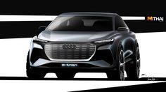 เปิดภาพ Audi Q4 e-tron Concept ก่อนเผยโฉมจริงที่นคร เจนีวา