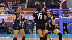 ทีมตบสาวไทย แก้ตัวสำเร็จ ไล่ตบ ไต้หวัน 3-0 เซต คว้าที่ 3 ศึกลูกยาง เอวีซี คัพ