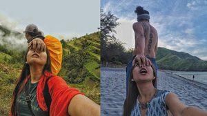 คู่รักสายฮา ถ่ายรูปล้อเลียนคู่รักคนดัง ในคอนเซ็ปต์ ลากไปเที่ยวด้วยกัน