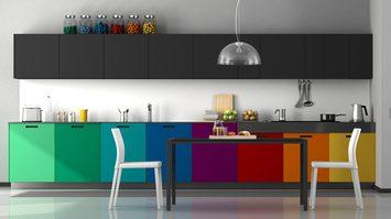 8 ไอเดียตกแต่งห้องครัว ด้วยโทนสีต่างๆ สวย เก๋ หลากสไตล์หลายสีสัน