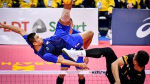 ตะกร้อไทยประเดิมสวย ชนะ มาเลเซีย ทั้งชายและหญิง ลุ้นทองทีมเดี่ยวซีเกมส์