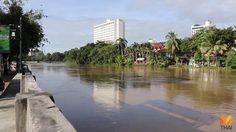 ชลประทานยืนยันน้ำไม่ท่วมเมืองเชียงใหม่ หลังระดับน้ำในแม่น้ำปิงเพิ่มสูง