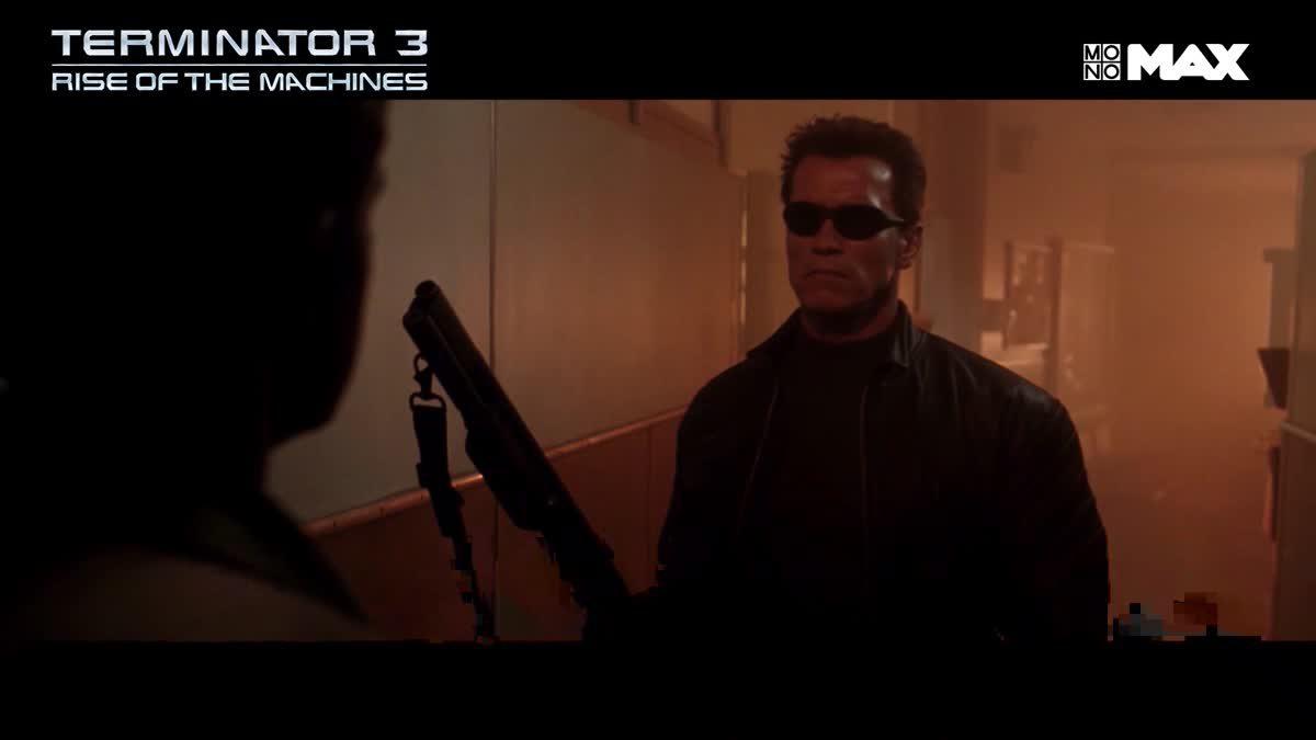 การต่อสู้ของไซบอร์ก T-850 VS T-X | Terminator 3: Rises of The Machines
