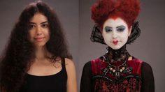 เปลี่ยนโฉมสุดชิค! 1 นางแบบกับ 5 ตัวละครจาก Alice Through the Looking Glass