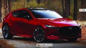 เปิดภาพ Render Mazdaspeed3 2019 จากฝีมือของ X-Tomi Design