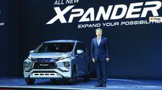 Mitsubishi xpander ใหม่  ประสบความสำเร็จด้วยยอดจองทะลุเกิน 5,000 คัน
