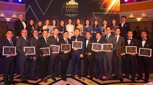 ตัวแทนผู้จัดจำหน่าย Chevrolet จากประเทศไทย รับรางวัล  แกรนด์มาสเตอร์ จีเอ็ม