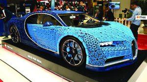 LEGO Bugatti Chiron ไซส์เท่าของจริง ขับได้จริง อวดโฉมที่ปารีสแล้ว
