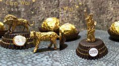 ศิลปะจากห่อขนม Ferrero Rocher ศิลปินจีนไอเดียเจ๋งมากๆ