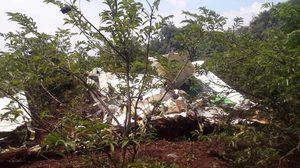 เครื่องบินเกษตรฯ ตก ที่ กาญจนบุรี เป็นเหตุทำให้มีผู้เสียชีวิต 2 ราย