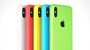iPhone รุ่นจอ LCD ขนาด 6.1 นิ้ว ปีนี้จะมาพร้อมสีสันสดใส สีฟ้า สีเหลือง สีชมพู
