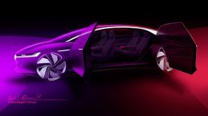 Volkswagen ประกาศเผยโฉม รถยนต์ต้นแบบ I.D. Vizzion ที่ Geneva Motor Show 2018