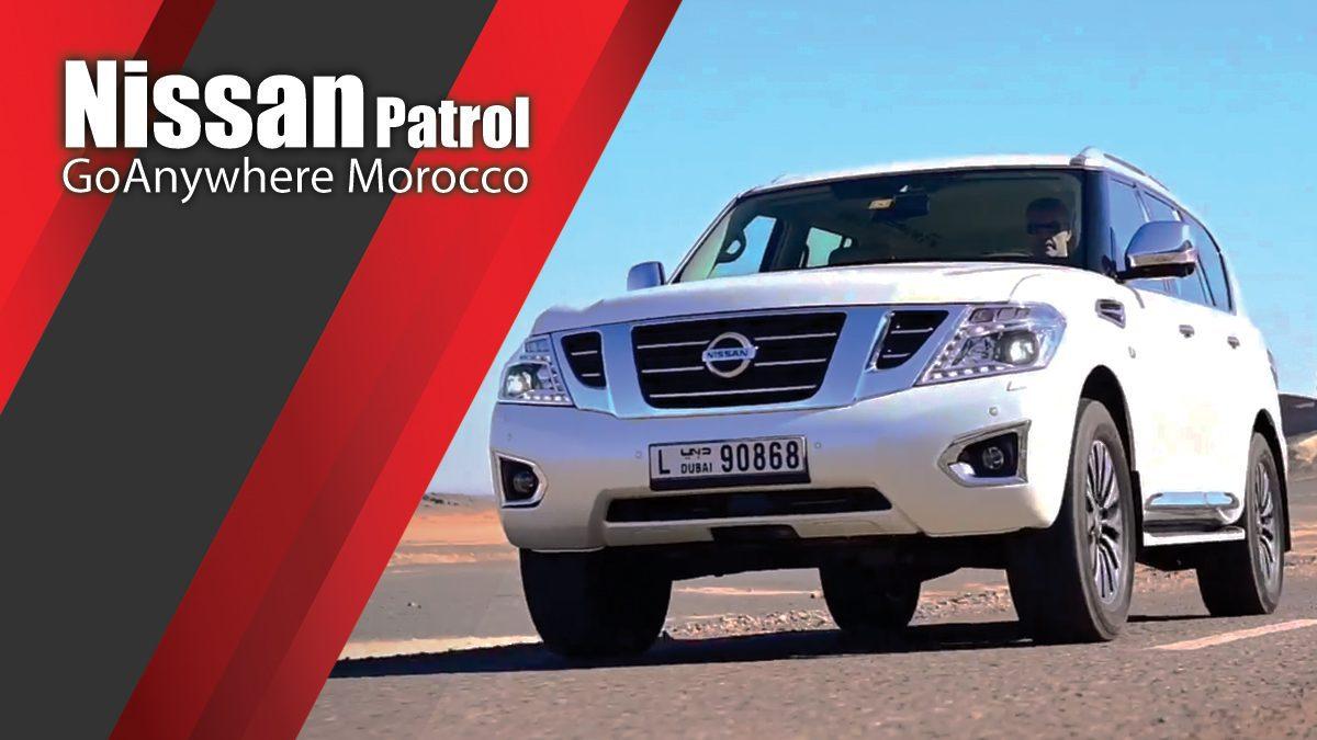 Nissan GoAnywhere Morocco - Nissan Patrol