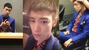 ท็อป BIGBANG อัพเซลฟี่ กร้อนผม-พร้อมเข้ากรมวันนี้!