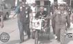 คุณตาปาน ชายพิการวัย 84 ปี โยกรถสามล้อถึงเมืองกรุงเก่าแล้ว