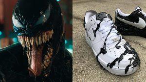 เหี้ยมโหด!! รองเท้า Venom ที่ถูกคัสตอมแบบจัดหนักจากฝีมือศิลปินลึกลับ