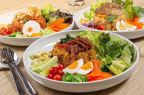 Good Food Good Health เมื่อของดี เจอกับของอร่อย  สีฟ้า พร้อมเสิร์ฟเมนูอร่อย แถมสุขภาพดี