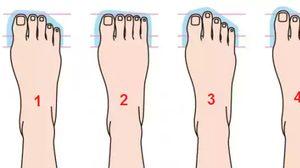 4 รูปแบบเท้า เท้า บอกลักษณะ นิสัยใจคอ ของคุณได้ เชื่อป่ะ?