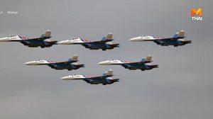 รัสเซียส่ง 'บินขับไล่' สกัด 'บินทิ้งระเบิดสหรัฐฯ' เหนือทะเลบอลติก