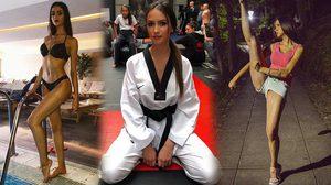 พริ้วจัด! Sara Damjanovic แชมป์เทควันโด้สายดำสุดเอ็กซ์ ที่กำลังฮอตในตอนนี้