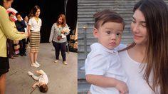 ซาร่า โชว์เหนือ ด้วยวิธีการปราบลูกชายของเธอได้อย่างอยู่หมัด เพียงแค่ 2 นาที