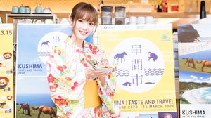 แป้ง คิราริสตา ชวนเที่ยวงาน Kushima Fair 2020 Taste & Travel เทศกาลอาหารและท่องเที่ยวเมืองคุชิมะ ญี่ปุ่น