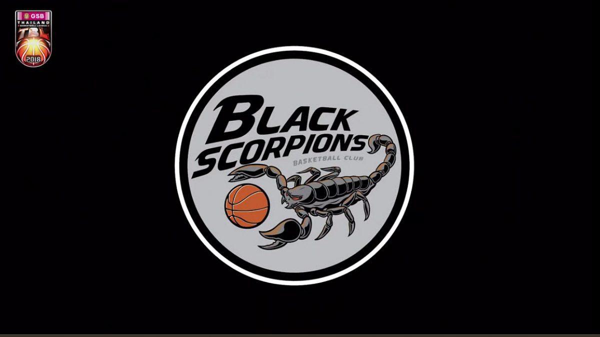 ทีม Black Scorpions ทีมน้องใหม่แต่หน้าเดิมของวงการบาสไทย