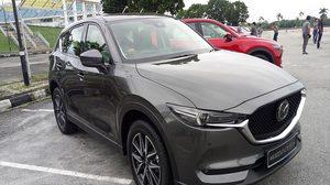 ทดสอบขับ Pre-Test All New Mazda CX-5 รุ่นจำหน่ายในไทย ก่อนใครที่ปีนัง, มาเลเซีย