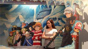 เก็บตกภาพงาน นิทรรศการสามมิติ One Piece จากต่างแดน!!