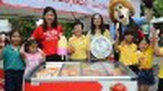 วอลล์ ส่งต่อความสุขให้เด็กไทย 7 แสนคนกินไอติมฟรีก่อนใครที่สวนสัตว์ 7 แห่งทั่วประเทศ