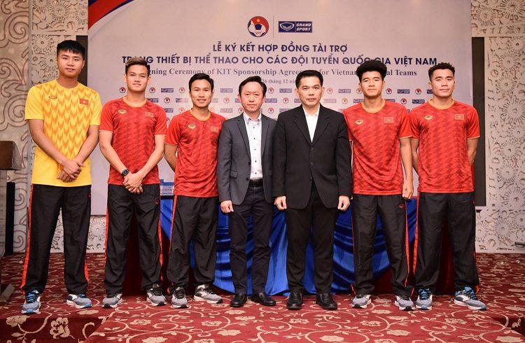 แบรนด์ไทย หนุนชุดแข่ง เวียดนาม 4 ปี 2020-2023