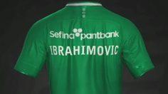 ย้ายแล้ว? อิบราฮิโมวิช โพสต์เสื้อแข่งทีมบ้านเกิดที่มีชื่อตัวเอง ในโซเชี่ยล