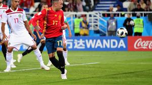 ผลบอล : สเปน vs โมร็อกโก !! กระทิงดุ ได้เฮเพราะ VAR ไล่เจ๊า โมร็อกโก ทดเจ็บ 2-2