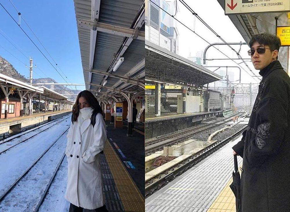 ณิชา-โตโน่ รอรถไฟ