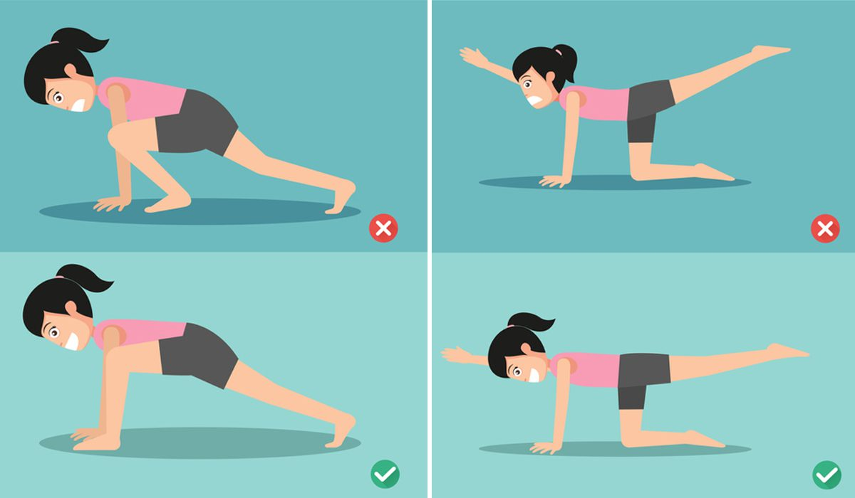 ผิดท่า!! 7 ท่าออกกำลังกาย ที่คุณอาจทำแบบผิดๆ มาตลอด โดยไม่รู้ตัว