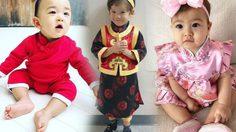 แฟชั่นชิคๆ วันตรุษจีน จากซุปตาร์ตัวน้อย เบาเบาเอ๊ง!!