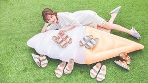 รองเท้าแตะสุดเก๋ Disney Tsum Tsum Cork Sandals