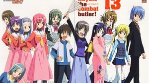 Hayate the Combat Butler the Movie  ( VCD DVD Boxset ,Rose)