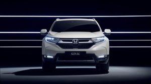 Honda เตรียมเปิดตัว CR-V Hybrid 2018 ที่ประเทศเยอรมนี